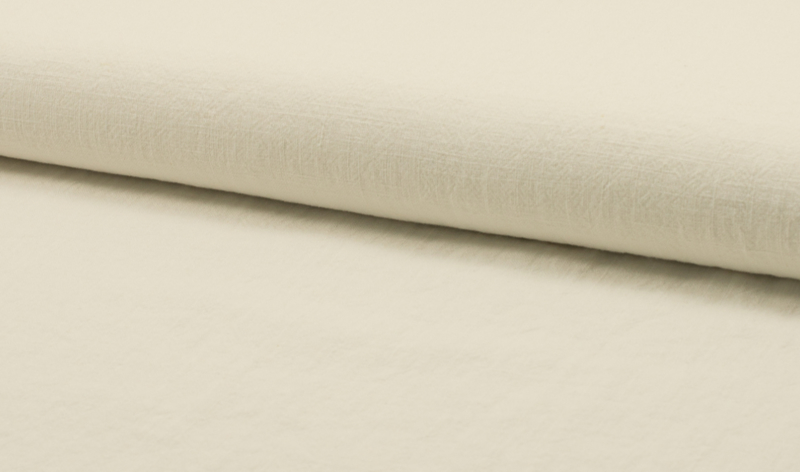 Stonewashed linnen off-white
