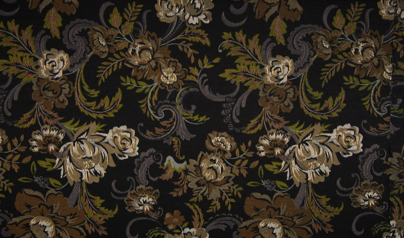 Viscose tricot baroque