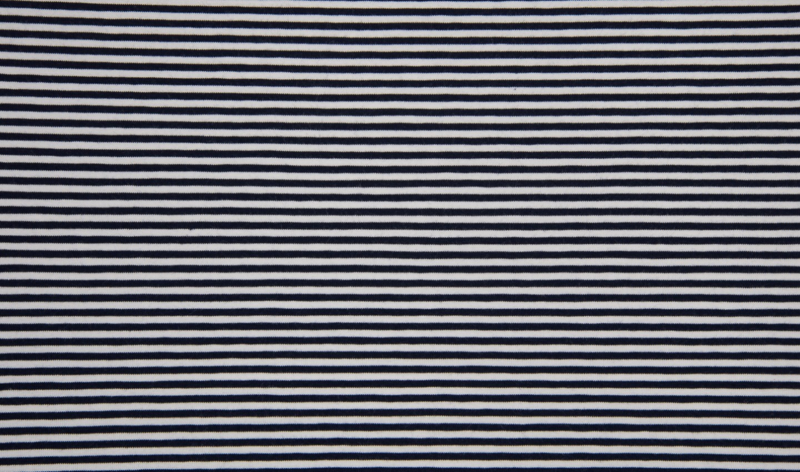 Tricot streep navy 0,3cm