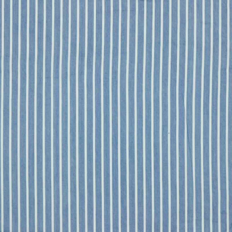 Zomerjeans streep lichtblauw