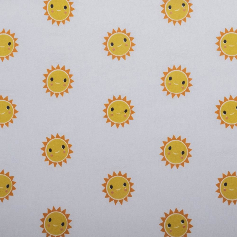 Gewassen katoen There comes the sun