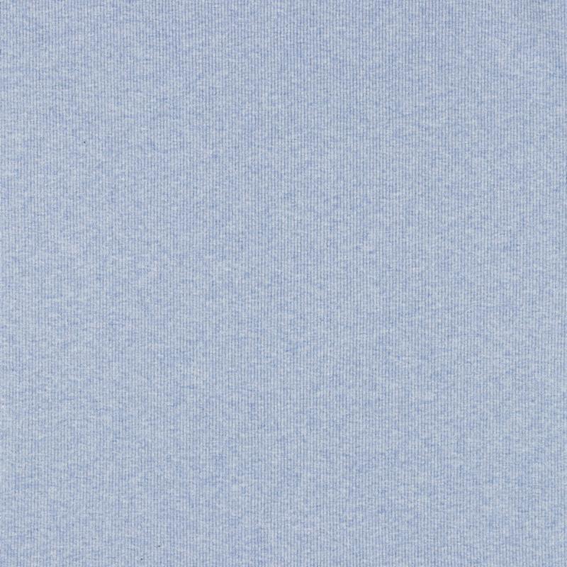 Boordstof blauw gemeleerd dikke rib