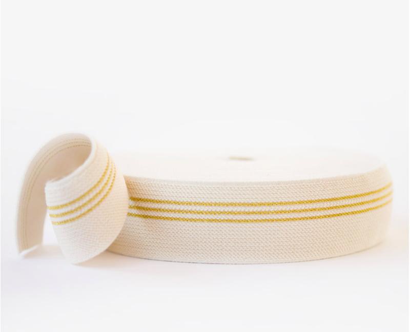 Taille elastiek Three Lines Gold