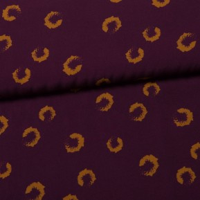 Viscose Scala Leo purple