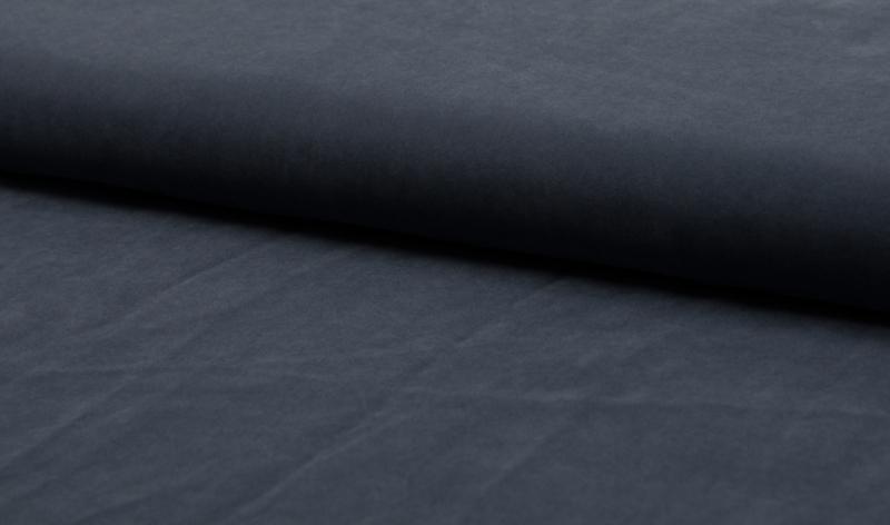 Niet rekbare Modal Jeansblauw