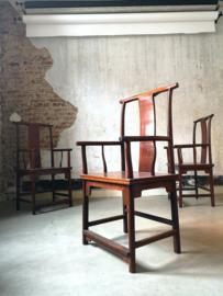 Chinese Yoke-back chairs