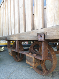 Industrial textile trolley