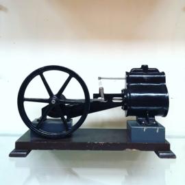 Vintage cast iron cut-away teaching model