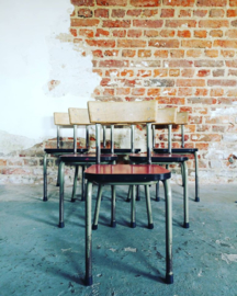 Vintage child school chair