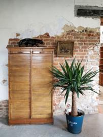 Antique roller shutter cabinet