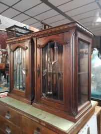 Antique diplay cabinet