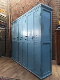 Wooden locker