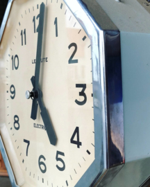 1940's double sided railway station clock