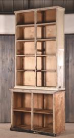 Old wooden shop cabinet