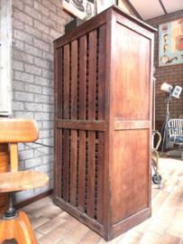 Antique typesetter's cabinet