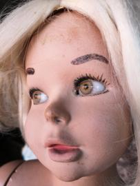 Old child mannequin