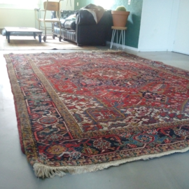Old woolen carpet