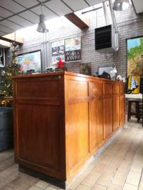 Antique shopcounter desk