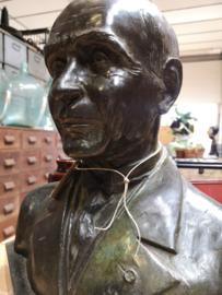1930's bronze bust