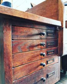 Antique & Unique cylinder desk