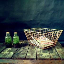 metal oyster basket