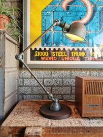 Vintage industrial Jieldé lamp