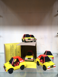Vintage tin toy cars NOS (new old stock)