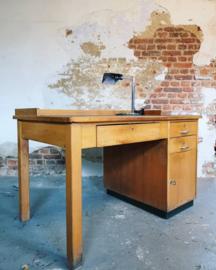 Vintage post office desk