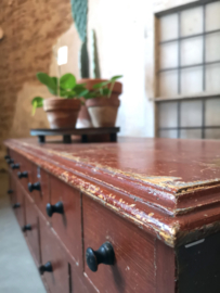Antique small apothecary cabinet
