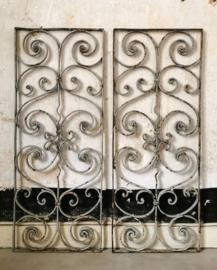 Wrought iron door/window grill
