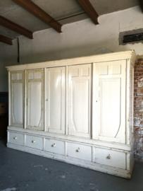 Large antique cupboard