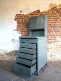 Industrial steel workbench