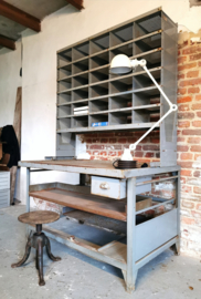 Industrial postal office desk