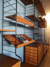 Vintage WHB  string wall unit