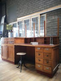 1930's shopcounter - desk combination