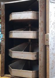 steel industrial carrousel cabinet