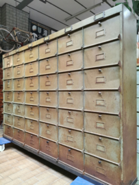 Industrial flap cabinet