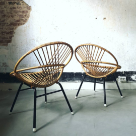 Vintage Rohe rattan chair