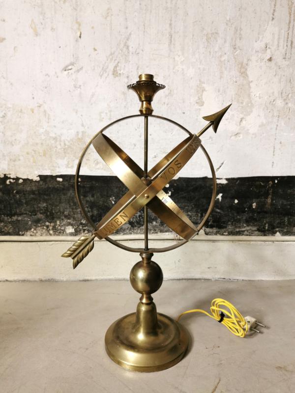 Vintage Monix sphere lamp