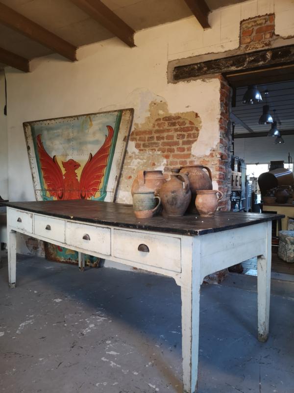 Old bakery worktable