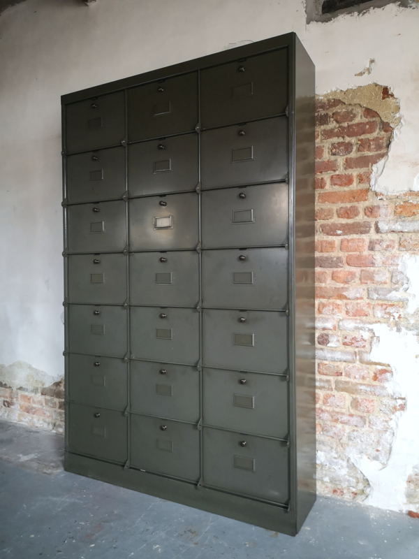 Industrial cabinet, C. Lechat, 1950's