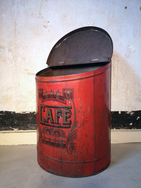 Antique large coffee container