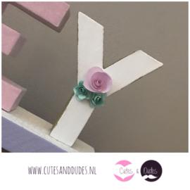 Blokletters: pastel unicorn
