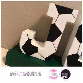 Blokletters: voetbal
