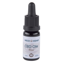 CBD Olie Raw  10 % Naturel