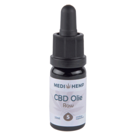 CBD Olie Raw  5 % Naturel