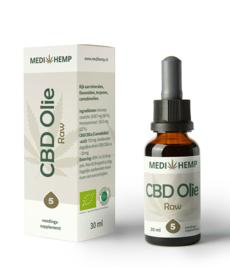 CBD Olie Raw  5 %- Bio
