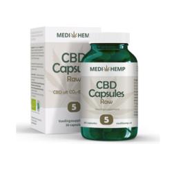 CBD Capsules Hennepzaad-olie (25mg CBD)