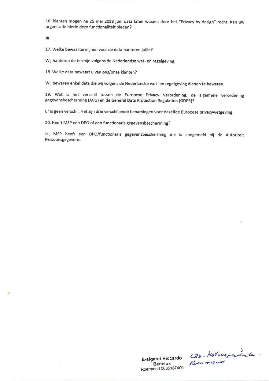 Verwerkinsovereenkomst van Multisafepay_3