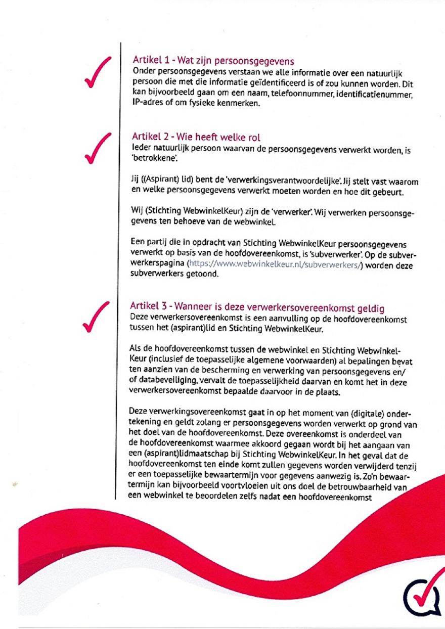 Verwerkinsovereenkomst van Webwinkelkeur_3